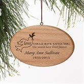 Forever Loved© Personalized Memorial Ornament - 9230