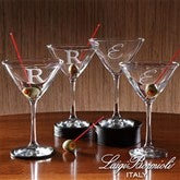 Luigi Bormioli® Personalized Martini 4pc Set - 9239-N