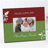 Family Is Forever Personalized Christmas Frame - 9244