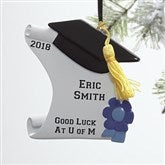 Graduation Diploma© Personalized Ornament