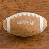Personalized Plush Sport Pillow-Football - 9378-C