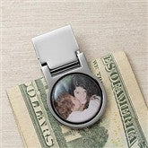 Favorite Faces Photo Money Clip - 9379D