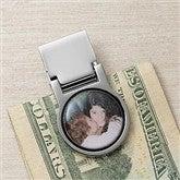 Favorite Faces Personalized Photo Money Clip - 9379D