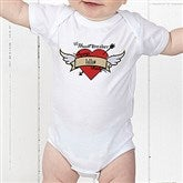 Heartbreaker Personalized Baby Bodysuit - 9388-CBB