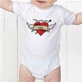 Heartbreaker Personalized Baby Bodysuit - 9388-CBB