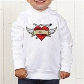 Heartbreaker Personalized Toddler Hooded Sweatshirt - 9388-CTHS