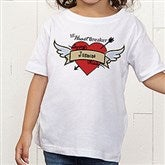 Heartbreaker Personalized Toddler T-Shirt - 9388-TT