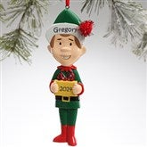Winter Family Character© -- Dad Ornament - 9397-D