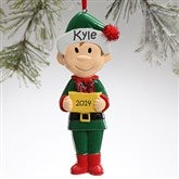 Winter Family Character© -- Big Brother Ornament - 9397-BB