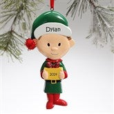 Winter Family Character© -- Lil' Brother Ornament - 9397-LB
