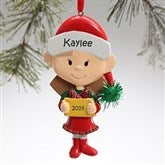 Winter Family Character© -- Lil' Sister Ornament - 9397-LS