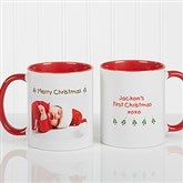 Christmas Photo Wishes Personalized Coffee Mug 11oz.- Red - 9426-R