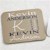 Personally Yours Personalized Mouse Pad - 9481