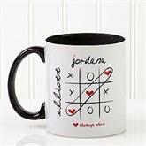 Love Always Wins! Personalized Coffee Mug 11oz.- Black - 9571-B