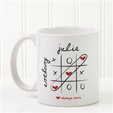 Love Always Wins! Personalized Coffee Mug 11oz.- White - 9571-S