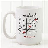 Love Always Wins! Personalized Coffee Mug 15oz.- White - 9571-L