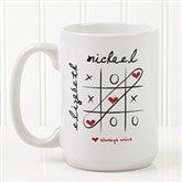Love Always Wins! Personalized Coffee Mug 15oz.- White - 9571-L