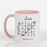 Love Always Wins! Personalized Coffee Mug 11oz.- Pink - 9571-P