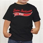 Father & Son Team Personalized Toddler T-Shirt - 9576-TT