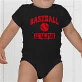 14 Sports Personalized Baby Bodysuit - 9580-CBB