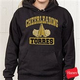 14 Sports© Black Hooded Sweatshirt - Adult - 9582-A