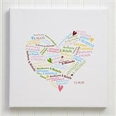 Heart of Love© Personalized Canvas Art-12
