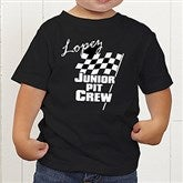 Pit Crew Personalized Toddler T-Shirt - 9587-TT