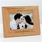 The Best Is Yet To Be Personalized Frame- 4x6 - 9596-S