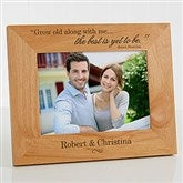 The Best Is Yet To Be Personalized Frame- 5 x 7 - 9596-M