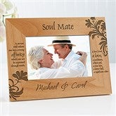 What Is A Soul Mate? Personalized Frame- 4 x 6 - 9622-S