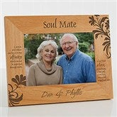 What Is A Soul Mate? Personalized Frame- 5 x 7 - 9622-M