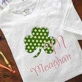 Shamrock Initial© Youth T-Shirt - 9627-YWT