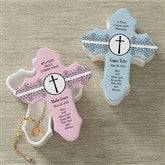 May God Bless Me© Personalized Cross Box - 9647