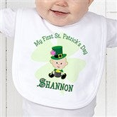 My 1st St Patrick's Day Infant Bib - 9673-B