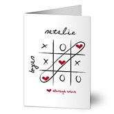 Love Always Wins! Personalized Greeting Card - 9684