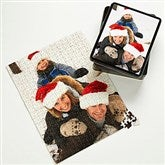 Personalized Holiday Photo 252 Pc Puzzle & Tin - Vertical - 9701-V252