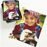 Pieces of Love Personalized 252 Pc Photo Puzzle & Tin - Vertical - 9702-252V