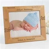 New Arrival© Personalized Baby Frame- 8 x 10 - 9769-L