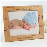 New Arrival Personalized Baby Frame- 8 x 10 - 9769-L