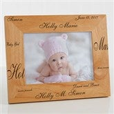 New Arrival© Personalized Baby Frame- 5 x 7 - 9769-M