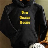 You Name It©- Black Hooded Sweatshirt - 9777-BH