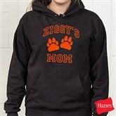 Who's Boss? Black Adult Hooded Sweatshirt - 9778-AS