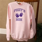 Who's Boss? Pink Adult Sweatshirt - 9778-PS