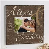 Love Brought Us Together Personalized 5x7 Wall Frame - 9815