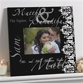 The Wedding Couple 5x7 Personalized Wall Frame - 9818