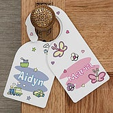 Sleepy Time Personalized Door Knob Hanger - 9820