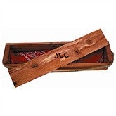 Branding Iron Wood Box Gift Set - 9823D-G