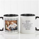 My Words To You Personalized Coffee Mug 11oz.- Black - 9844-B