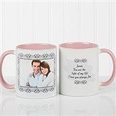 My Words To You Personalized Coffee Mug 11oz.- Pink - 9844-P