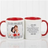 My Words To You Personalized Coffee Mug 11oz.- Red - 9844-R